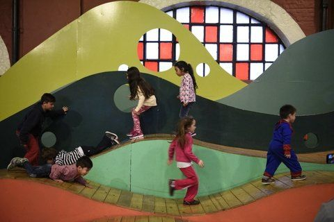 un clásico. La Isla de los Inventos es una de las principales atracciones para los más chicos.