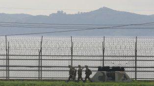 zona caliente. La militarizada frontera intercoreana.