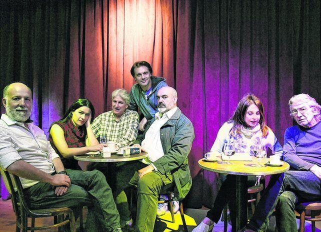 En un bar imaginario. Leonor Benedetto