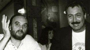 El Negro y TomiMüller, la amistad de dos dibujantes rosarinos.