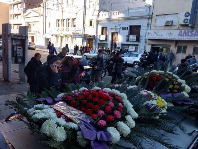 Los restos de Pablo Cejas fueron sepultados esta mañana.