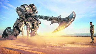 El regreso de los robots. En Transformers 5 los efectos especiales conviven con actores como Mark Wahlberg y Anthony Hopkins.
