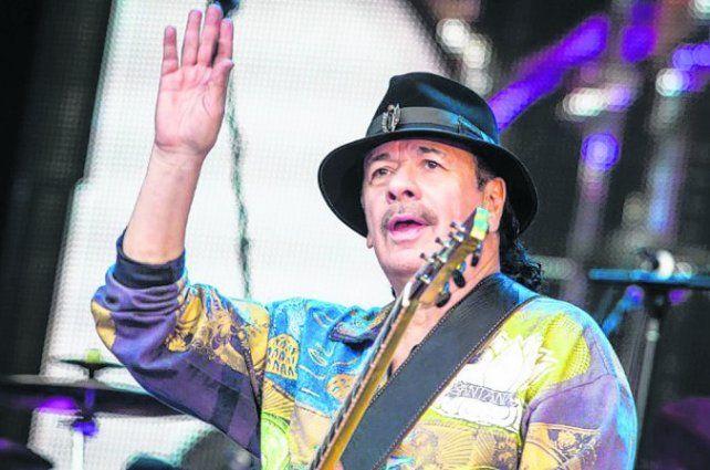 Santana cumple 70 años y lo celebra con un nuevo disco