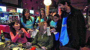 voluntarios. Se implementaron alcohotests preventivos en los bares con obsequios para los cumplidores.