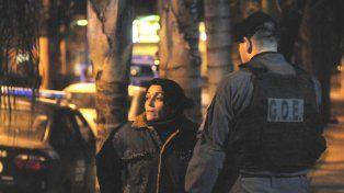 Nancy Scafone, la esposa de Pablo Cejas, arremetió contra la policía de Santa Fe.