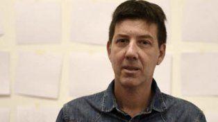 El nuevo director. Pablo Montini en su lugar de trabajo.