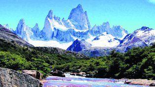 Tesoro compartido. El monte se encuentra ubicado en la Patagonia, en el límite entre Argentina y Chile.