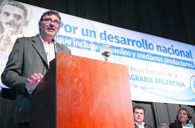 Reclamos. El presidente de la Federación Agraria Argentina se mostró preocupado por la crisis de las economías regionales. Nadie habla de los productores que quedan en el camino.