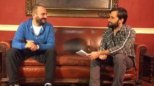 Kurt Lutman en el Facebook Live de La Capital: Sé cómo es Maxi y quién es Bermúdez
