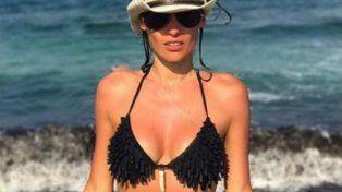 las fotos de pampita en bikini durante sus dias de relax en ibiza junto a pico monaco
