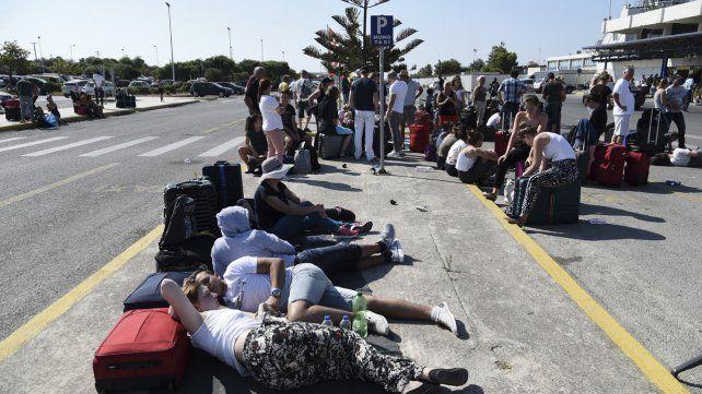 Impactantes imágenes del terremoto en Turquía y Grecia