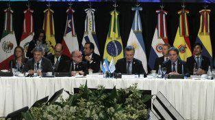 Macri abogó para que los países del Mercosur trabajen juntos y consolidar la integración hacia el mundo.