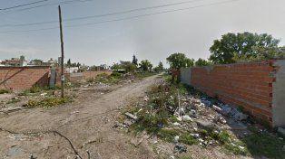La zona del crimen. Luis Konig fue ultimado a balazos en Paraguay y Anchorena.