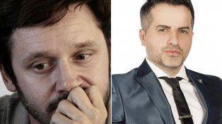 En las redes. El actor Vicuña y el periodista de Brito se cruzaron en Twitter.