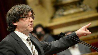 Desafío. Puigdemont está decidido a celebrar la consulta el 1º de octubre.