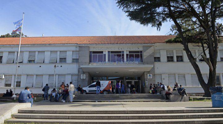 La víctima fue derivada al Hospital Eva Perón.