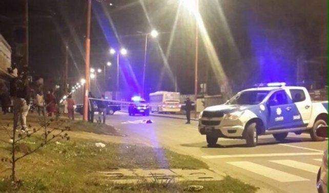 La policía toma las primeras medidas tras el accidente en San Martín al 3200
