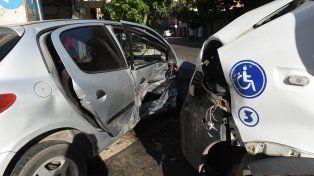 El choque nuestro de cada día. Pese al impacto, la tendencia siniestral en Rosario es a la baja.