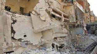 Alepo, una de las mayores ciudades de Siria, es ícono de la destrucción causada por los bombardeos.