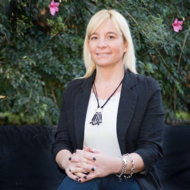 Candidata. María Laura Spagnoli busca una banca en el Concejo.