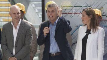 Rodríguez Larreta, Macri y Vidal integran la mesa chica en la toma de decisiones del gobierno.