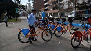 Se inauguraron cinco nuevas estaciones del sistema Mi bici tu bici