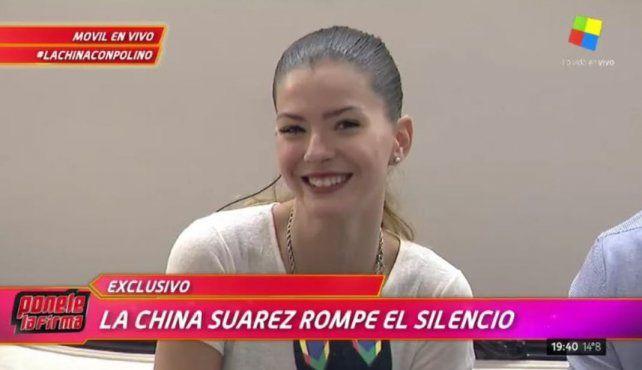 La China Suárez confirmó que está embarazada: Es un bebé muy buscado