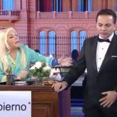 Cristian Castro cantó como Sandro, emocionó a Susana y le pidió casamiento en vivo