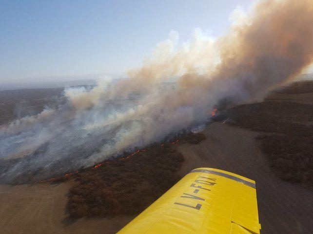 El incendio fue sofocado tras varias horas