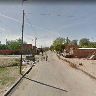 Rodríguez y Garibaldi, la zona donde fue detectado el vehículo y donde sucedió el altercado. (Foto: captura de street view)