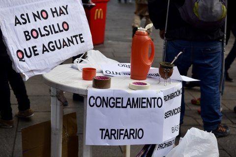 recesión. La Multisectorial contra los Tarifazos pide un congelamiento.