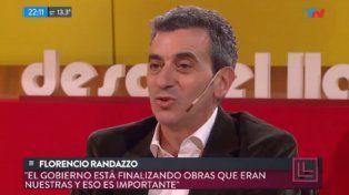 Macri es más fruto de nuestros errores que de sus aciertos, dijo Randazzo