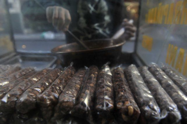 El vendedor de praliné trabajaba en Paso y Cabal