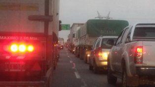 La imagen de la autopista.