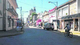 Menos venta. En muchos rubros los comercios de la ciudad de Venado Tuerto notaron la baja.