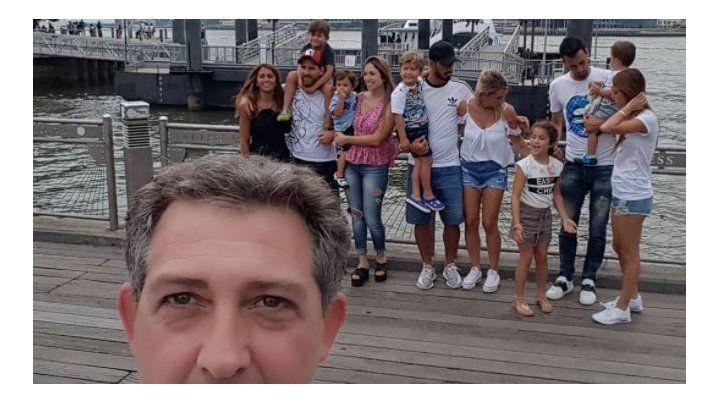 Esteban Quaglia acompañó la selfie con un gracioso comentario en Instagram.