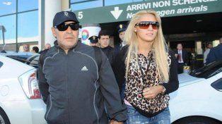 Rocío Oliva viajó a Dubai para intentar reconciliarse con Maradona y fichar para un club