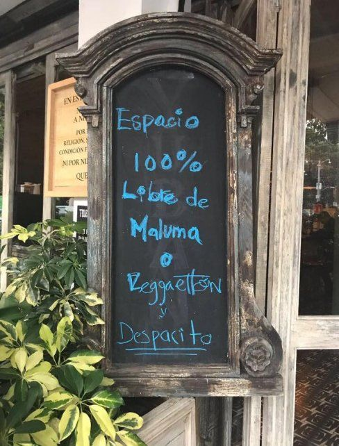 Un restaurante tomó la decisión de no pasar Despacito y se volvió viral