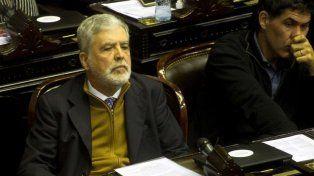 El diputado nacional Julio de Vido habló hoy en la Cámara baja.