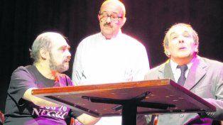 El bar soñado. Herrero (Fontanarrosa), Arévalo y López (Borges).