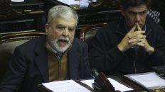 el gobierno no logro reunir los votos para remover a de vido, que seguira como diputado