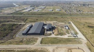 Moderna. La planta de gestión de residuos sólidos urbanos es la más grande de la provincia