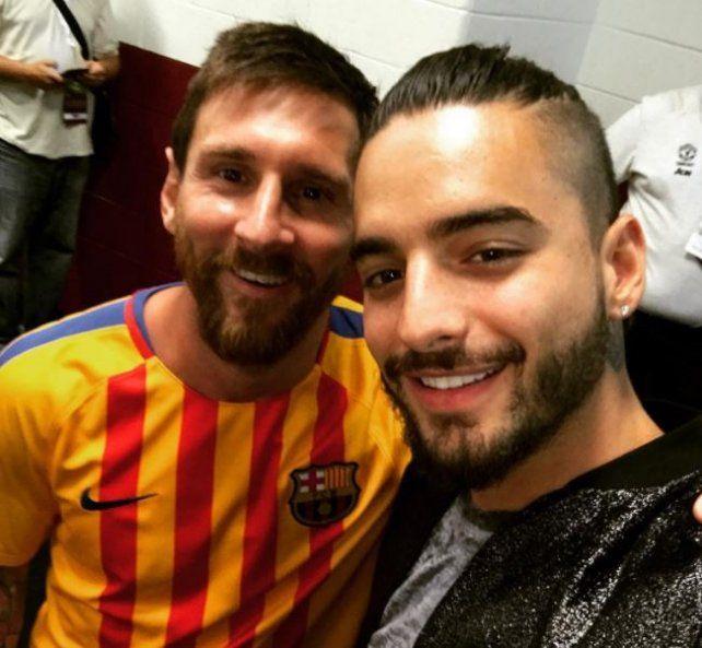 Messi, Neymar y Maluma juntaron fútbol y música tras el triunfo de Barcelona en Washington