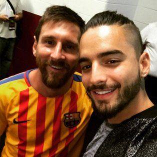 messi, neymar y maluma juntaron futbol y musica tras el triunfo de barcelona en washington