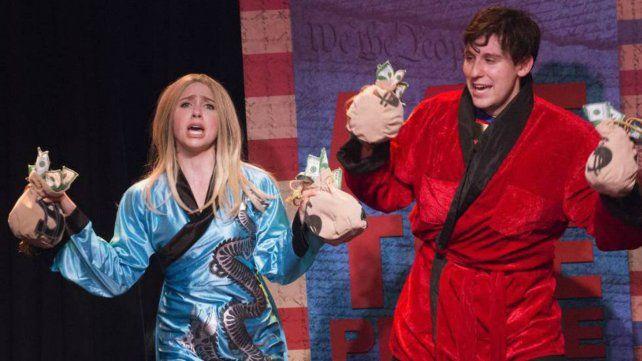 Arrasa en Broadway un musical que cambia según las decisiones de Trump