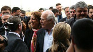 La intendenta Mónica Fein y el gobernador Miguel Lifschitz participaron del acto inaugural del Girsu.