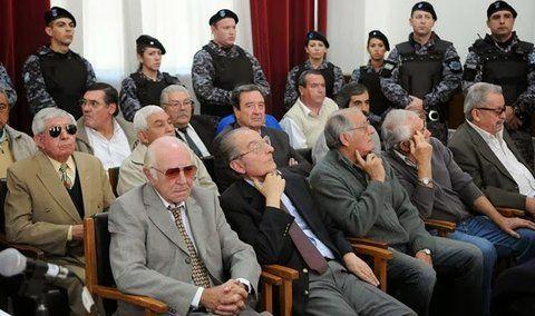 condenados. Los jueces participaron de secuestros