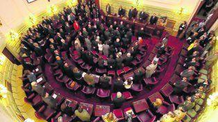 proyecto discutido. En la Cámara alta piden que Diputados no cajonee la ley.