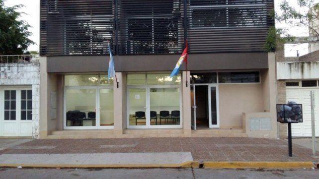 La Fiscalía de Casilda donde se realiza la investigación.