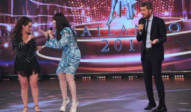 Nancy Pazos criticó la performance de Moria pero al final terminaron bailando juntas
